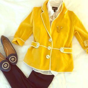 Yellow Spring Blazer!